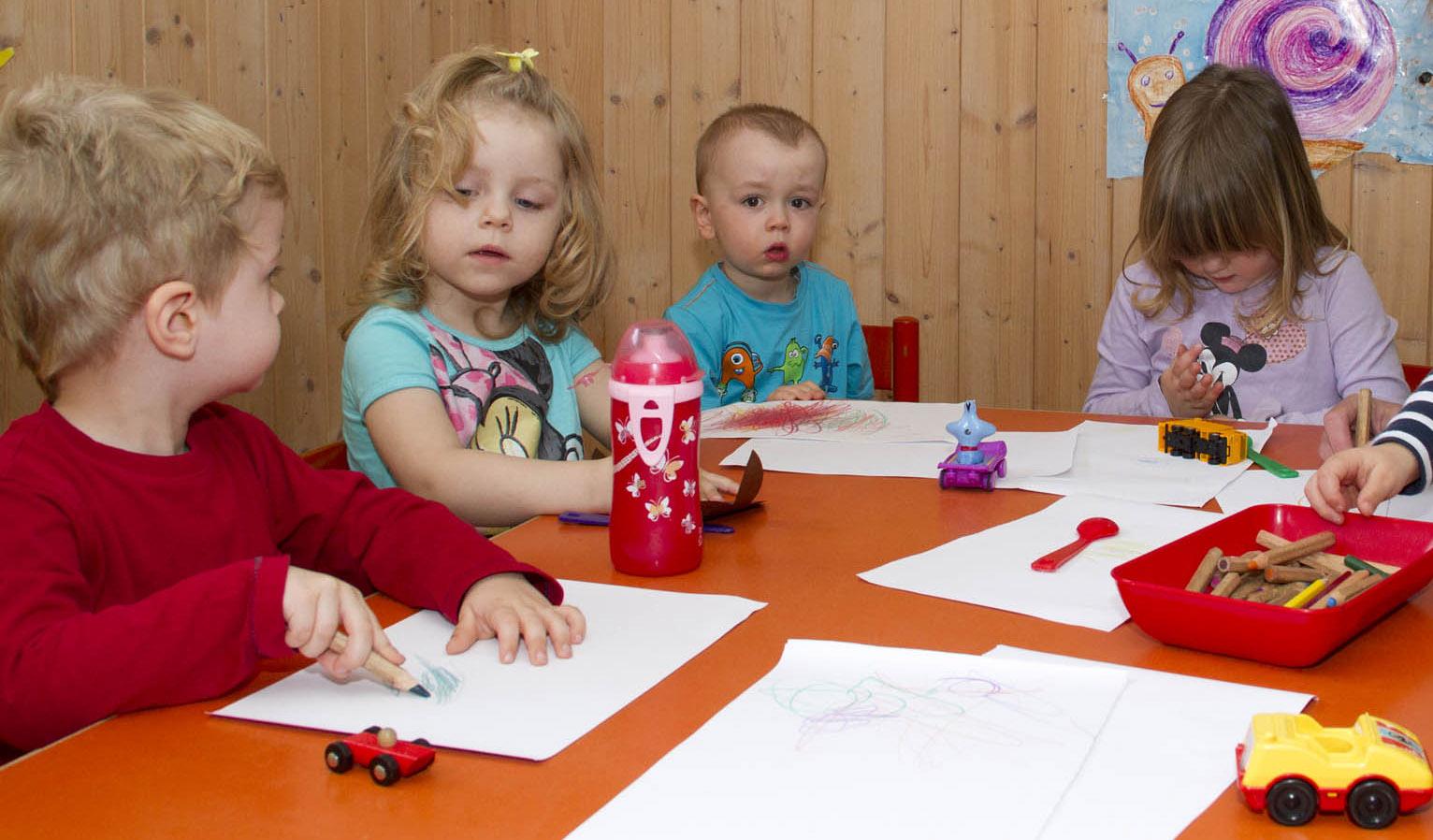 Kindergartengewöhnunggruppe
