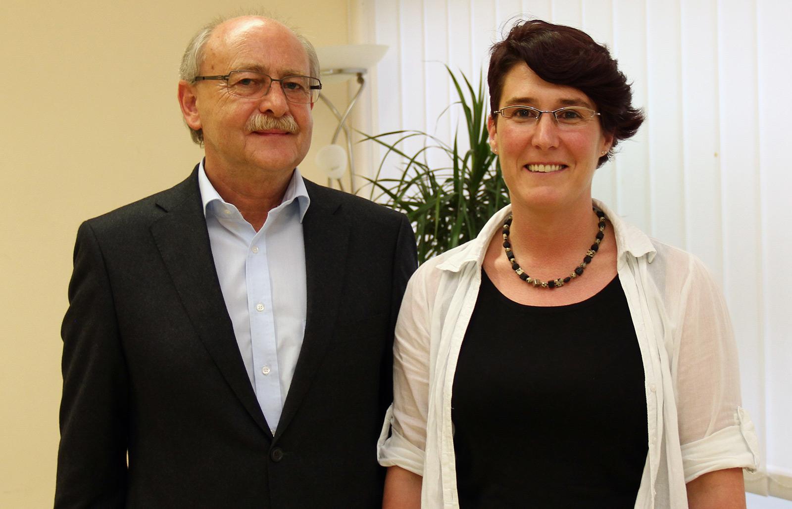 Georg Sedlmeier und Ingrid Neubauer
