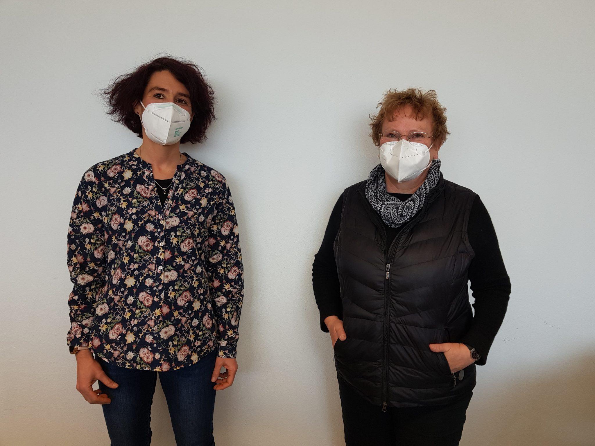 Ingrid Neubauer und Sabine Brügel-Fritzen